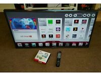 Lg 47 inch super slim led 3D smart excellent condition fully working with remote control
