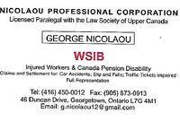 WSIB Legal Worker Representative for those Injured at Work