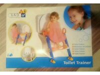 Toilet trainer potty seat and and steps. Brand new.