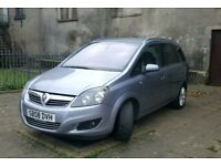 2008 Vauxhull Zafira 1.9 Diesel