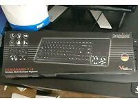 Perixx wireless keyboard and touchpad