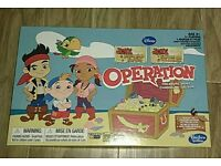 Operation Board Game Jake and the Neverland Pirates
