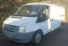 FORD TRANSIT 2.2 TDCI 2006 CREW CAB 6 SEATERS 117K ROOF RACK TOW BAR