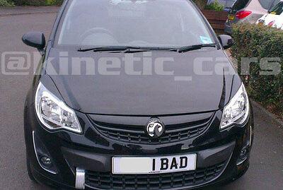 Vauxhall corsa D Headlamp eyebrows eyelids spoilers VXR Artic
