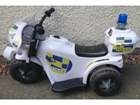 Ride on Police Bike