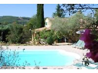 PRIVATE VILLA WITH POOL FOR 8 PEOPLE TO RENT FOR F1 GRAND PRIX FRANCE
