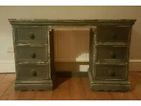 Solid pine desk / dressing table( free local delivery)