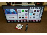 LG 42 inch supper slim line 3D smart led with remote control