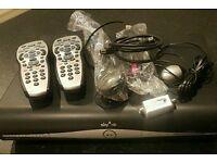 Sky Hd Box / 2x Remotes / magic eye