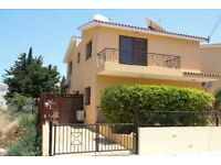 Cyprus, Paphos 3 bedroom villa Rima with private pool in touristic area