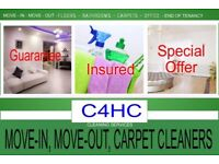 SAME DAY OR ANY DAY Professional End of Tenancy Cleaners, Deep Rental Move Clean, Carpet Cleaning