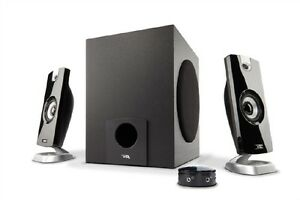 Cyber Acoustics CA-3090 2.1 Speaker System - 9W RMS - 18W PMPO