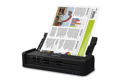 Epson WorkForce ES-300W Wireless Portable Duplex Document Scanner - Refurbished