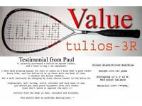 Squash racket brand new tulios -3R 2017 season