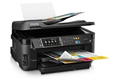 Epson WF-7610 All-In-One Inkjet Printer - One of Best Printers Epson Has