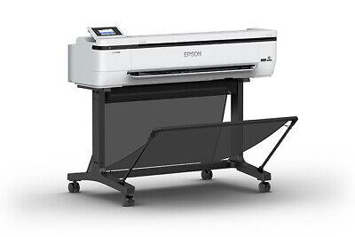 New Epson Surecolor T5170m 36 Wide Large Format Color Plotter Printer Scanner
