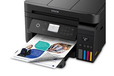 EPSON WORKFORCE ST-3000 ECOTANK COLOR MFP SUPERTANK PRINTER – MULTIFUNCTION PRIN