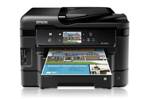 Epson All in One Printer - print, scan, copy and fax