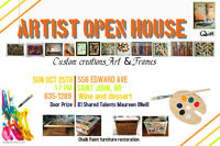 GALLEY HOP - West Side- ARTIST OPEN HOUSE - All Welcomed!