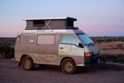 Mitsubishi L300 Express Van 4WD (1995) Battery Point Hobart City Preview