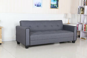 WHOLESALE BLOWOUT SALE MODERN GREY FABRIC SOFABED $299.99