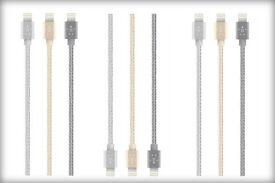 Job Lot 50x Belkin Mixit Metallic Lightning Cables (Mixed Colours)