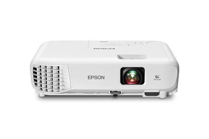 Epson VS260 3LCD XGA Projector, 3,300 Lumens Color/White Brightness, HDMI