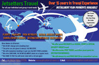 Jetsetters Travel - Your Premier Travel Company Service