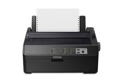 NEW Epson FX-890II & 4 Ribbons - 9-pin Dot Matrix Monochrome Printer (738 cps)  Epson Fx 890 Ribbon