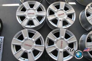 GMC 17 inch factory wheels.