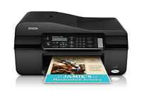 Epson WorkForce 320 Color Ink Jet All-in-One Print/Copy/Scan/Fax