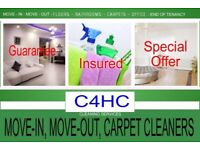 SHORT NOTICE- Special Offer END OF TENANCY CLEANING BUILDERS CLEAN CARPET WASH ONE-OFF DEEP CLEANERS