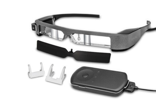 Epson Moverio BT-300FPV 3D Smart Glasses, FPV/Drone Edition, Bluetooth, Wifi