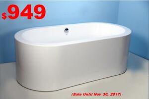 Freestanding Bathtub & Skirt Bathtub. New!