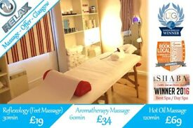 Massage Offers Glasgow - Hot Oil, Aromatherapy, Reflexology -also available: Swedish, Deep Tissue...