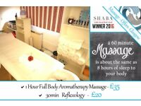 Massage Offers Glasgow - Aromatherapy, Reflexology - also available: Swedish, Deep Tissue, Sports