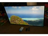 Samsung 46 inch super slim line led 3D tv