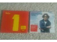Beatles and lennon cds