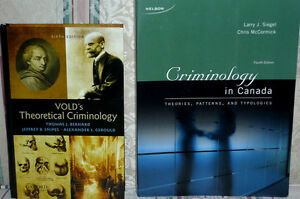 VOLD's Theoretical Criminology: Excellent Condition