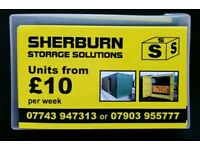 Storage in the Sherburn area