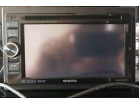 Kenwood ddx 3025 bt touch screen DVD player