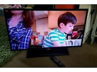 Samsung 43 inch slim line HD tv excellent condition fully working with remote control
