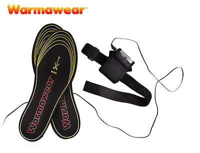 Battery Powered Heated Shoes Insoles Thermal Electric Foot Toe Warmers Boots