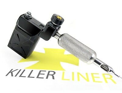 Killer Rotary Tattoo Machine Supply Hard Hitting Liner Gun (black)