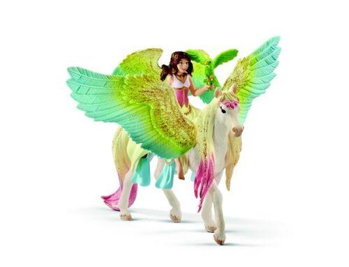 <><  Fairy Surah with Unicorn by Schleich 70566 Stunning Bayala strong beautiful