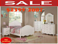 bedroom sets, single  beds, dresser, chest, night tables, mvqc