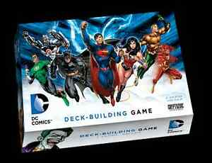 DC Comics Deck-Building Card Game (Fully Sleeved + Hero Promo)