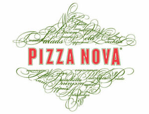 Experienced pizza make and driver wanted for Pizza Nova!