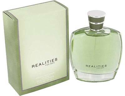 Liz Claiborne Realities 3.4 oz  Men's  Cologne spray New in