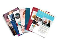 Printing Flyers, Postcards, Business cards, Menus, Booklets more